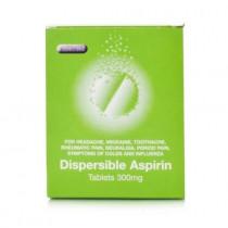 Aspirin Dispersible 300mg Tablets