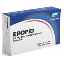 Eropid 50mg Sildenafil Tablets - 8 Tablets Erectile Dysfunction