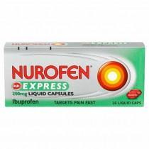Nurofen Express 200mg Liquid Capsules - 16 Capsules