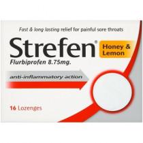 Strefen Honey and Lemon 16 Lozenges