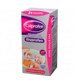 Calprofen Sugar Free Ibuprofen Oral Suspension Liquid 100ml