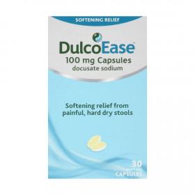 DulcoEase Stool Softener 30 Capsules