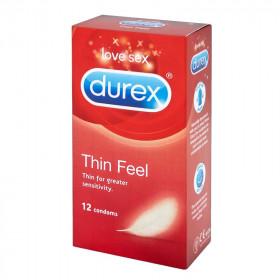Durex Thin Feel Condoms - 12 Pack