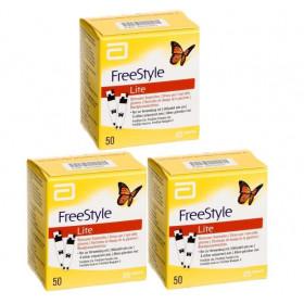 FreeStyle Lite Blood Glucose Test Strips Bulk Offer - 3 x 50 Strips