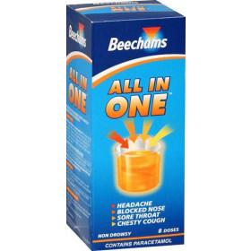 Beechams All In One Liquid 160ml