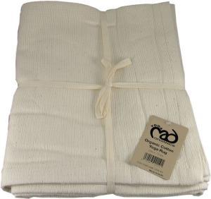 Yoga Mad Hand Woven Cotton Yoga Blanket - Natural