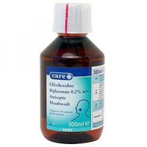 Chlorhexidine Antiseptic Mouthwash - Mint Flavour