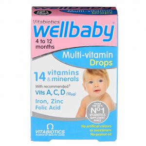 Vitabiotics Wellkid Baby Drops 30ml