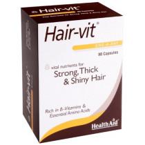 Health Aid Hairvit Capsules - 90 Capsules