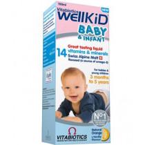 Vitabiotics Wellkid Baby And Infant Liquid 150ml