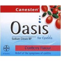 Canesten Oasis Sachets - 6 Sachets
