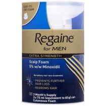 Regaine for Men Extra Strength Scalp Foam 3 x 73ml