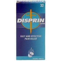 Disprin Aspirin Soluble Tablets - 32 Tablets