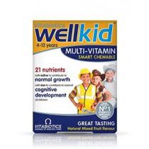 Vitabiotics Wellkid Multi Vitamins Smart Chewable 4-12 Years